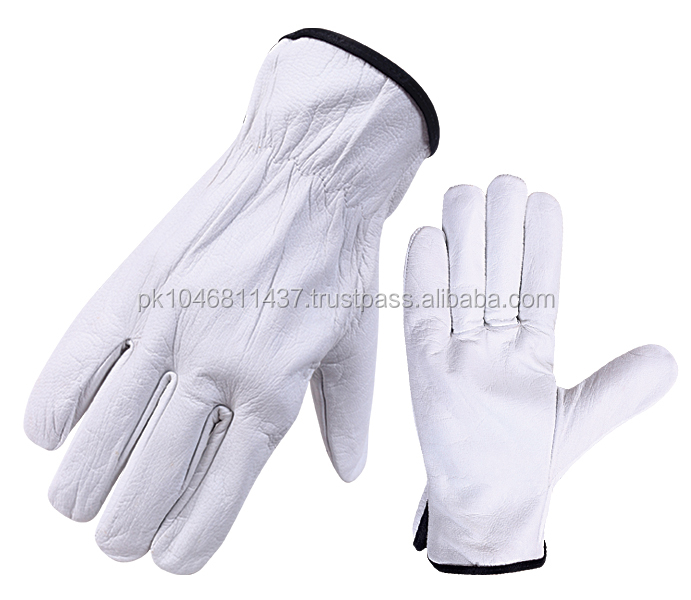 Grain Leather Driver Gloves Driving Gloves