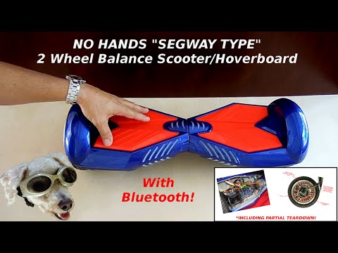 ULTIMATE 2 Wheel Balance Scooter/Hoverboard Product ReviewTeardown)