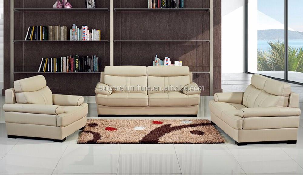 moderne woonkamer crà me bankstel lederen italiaanse lederen sofa