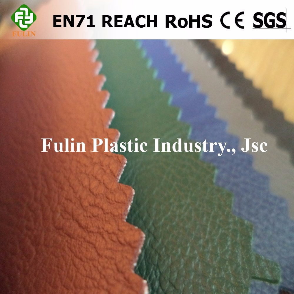 Hot Selling PVC Synthetic/Rexine Leather/Fabric for bags/shoes/sofa/furniture