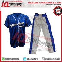 Buy Wholesale Custom sublimation baseball jersey american in China ...