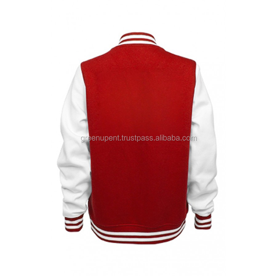 style Custom Varsity Jacket/Mens Melton Wool Varsilty Jackets Wholesale Letterman