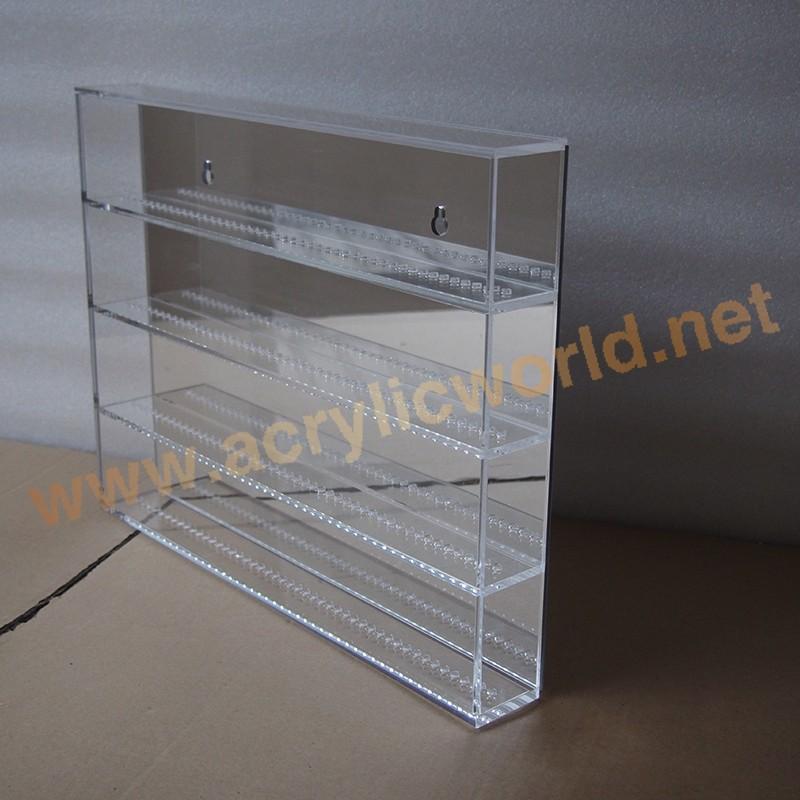 Horizontal Acrylic Lego Display Case Slidable Plexiglass