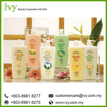Leivy Naturally Body Care double moisturizing Body wash Shampoo Private Label OEM/ODM Malaysia Manufacturing Products