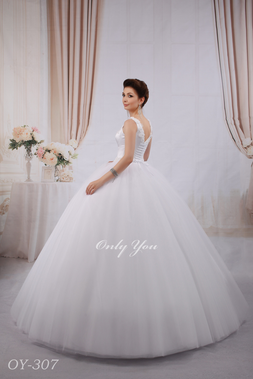 Ball Gown Wedding Dress Material : Fabric flowers buy wedding bridal gown ball dress tulle