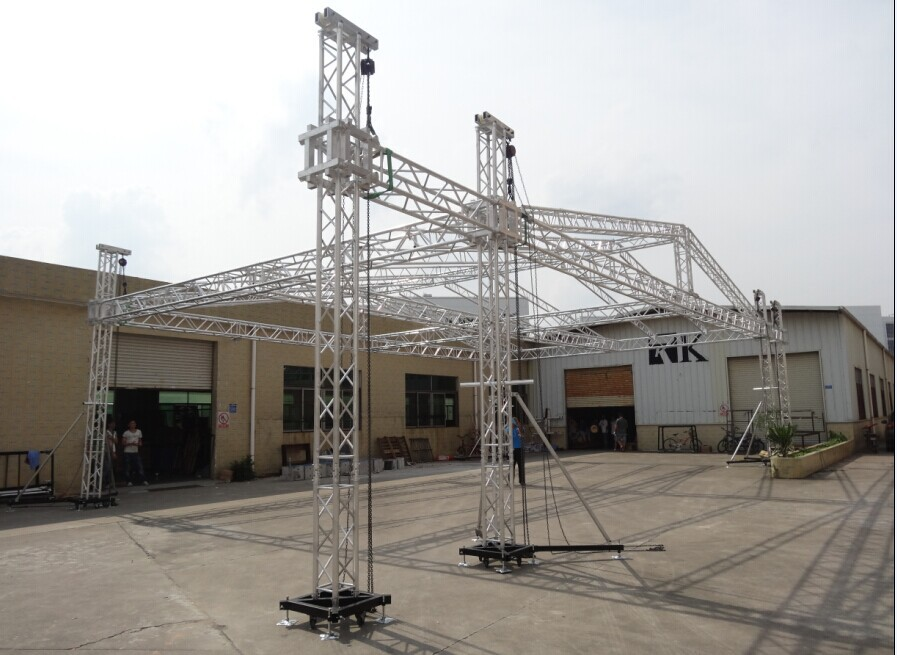 Concert scaffolding truss system from rk buy concert for Buy trusses