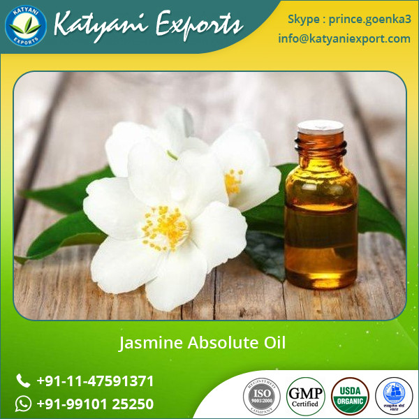 GMO & ISO Approved for Jasmine Essential Oil