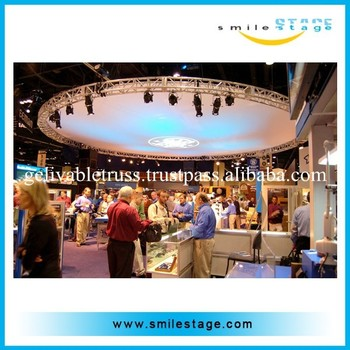 Good Quality Hanging Stage Truss Round Ceiling For Led Light