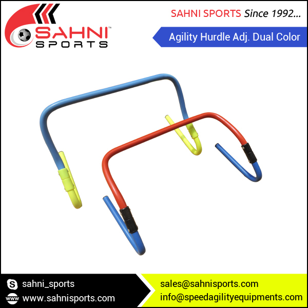 Agility Hurdle Adj. Dual Color