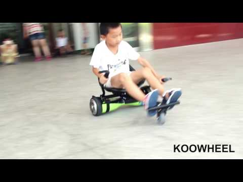 Hoverboard Cart ShowAMAZING NEW HOVERBOARD KART/HoverKarts/go-cart seat)