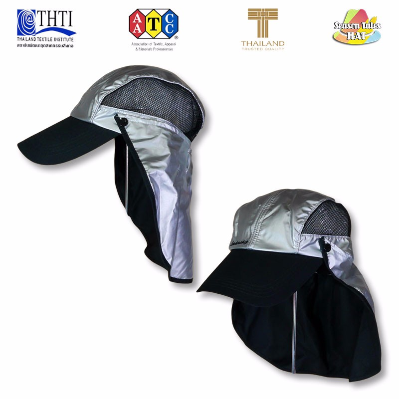 5b8838a95ab2c Sun Outdoor Summer Hat UV Protection Cap Removable Neck Flap Cover Fishing  Camping Waterproof