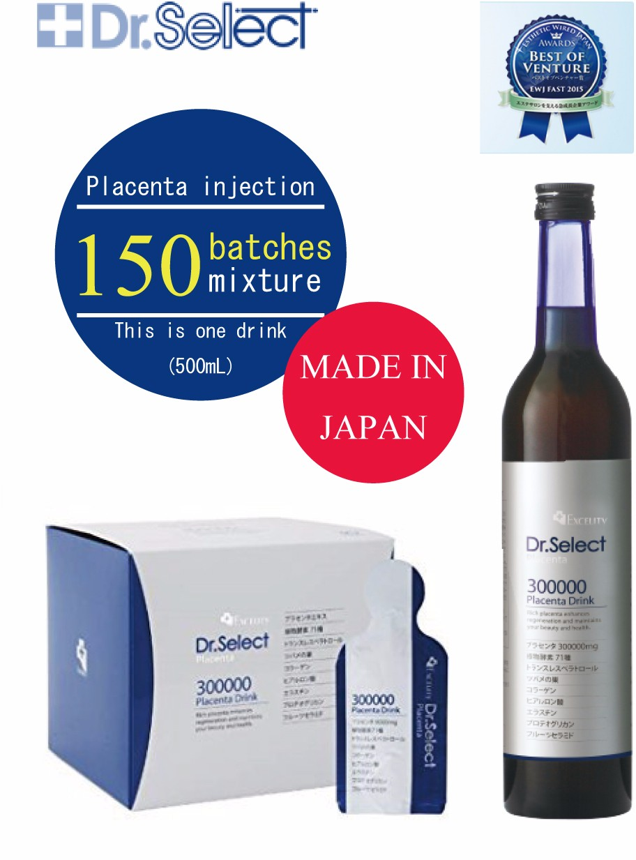 Dr Select Placenta Health Drink for Anti-Aging Made in Japan