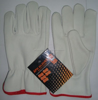 High Qaultiy Cow Grain Leather Driver Glove AP-222/Safety Gloves/Working gloves/Mechanic Gloves