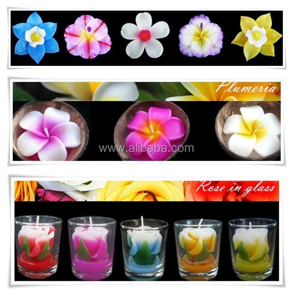 Floating Candles,Floating Flower Candles,Flower Shape ...