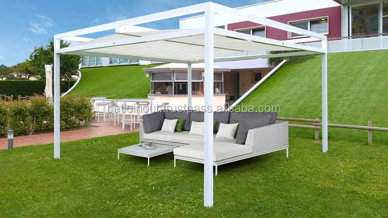 outdoor gartenlaube aluminium hochleistungs zelt kein holz pergola keine stahl pavillon tower. Black Bedroom Furniture Sets. Home Design Ideas