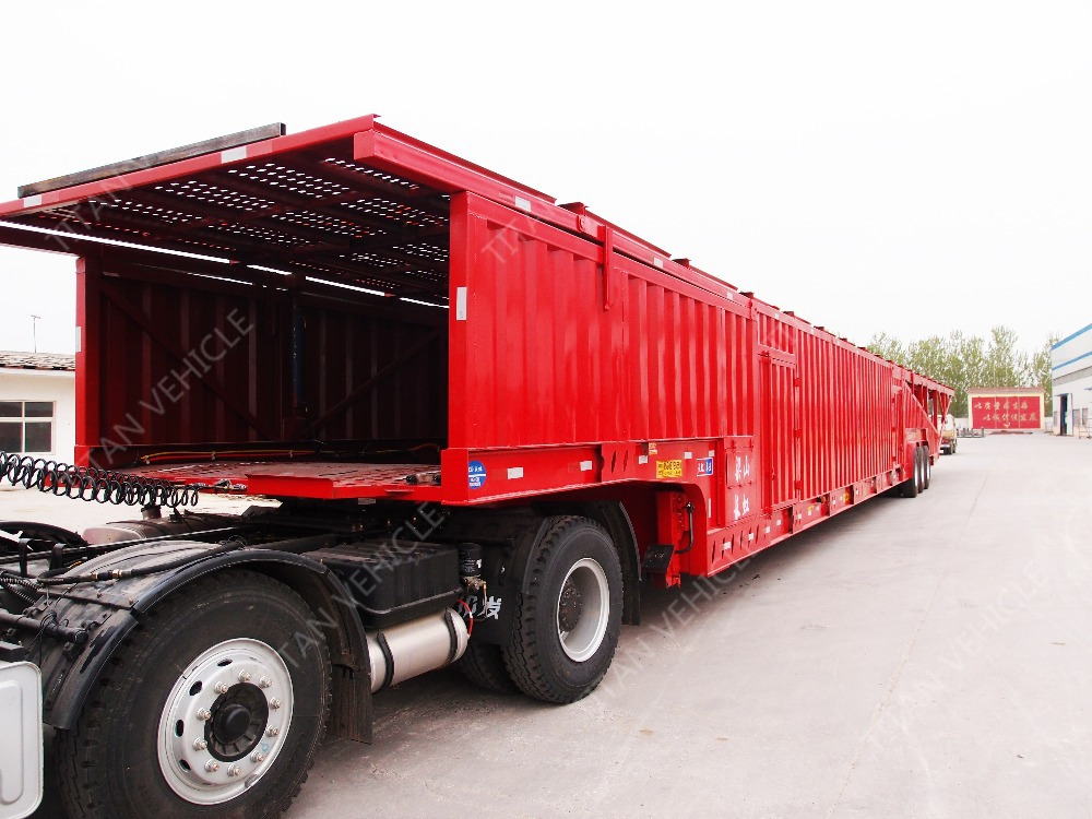 TITAN Industrial Group: 3 axle car transport truck trailer