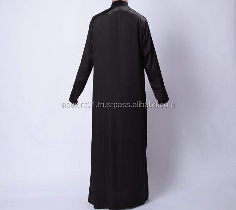 New Thobes Jubbah Mens Arab Thob Islamic Clothing
