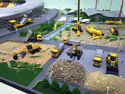 1 50 Scale Model Diecast Construction Model Xcmg Quy300