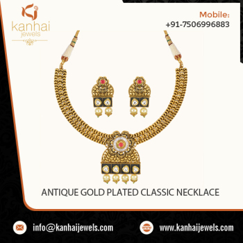Designer Gold Jewelry Antique Necklace Set 11018 Buy Light Weight Gold Necklace Sets Price Gold Plated Necklace For Women Necklace Set Jewelry Gold Supplier Product On Alibaba Com