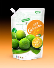 OEM Calamansi juice in 1000ml bag