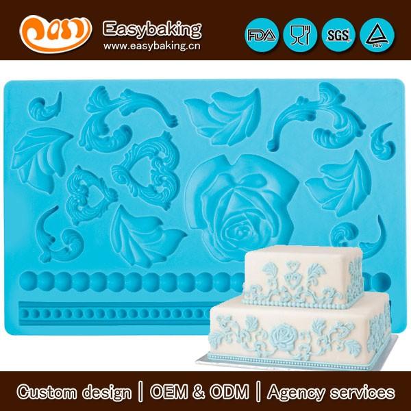 FGM-010 Baroque Fondant and Gum Paste Mold.JPG