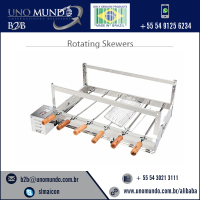 Superior Quality Excellent Finishing Rotating BBQ Skewers Available