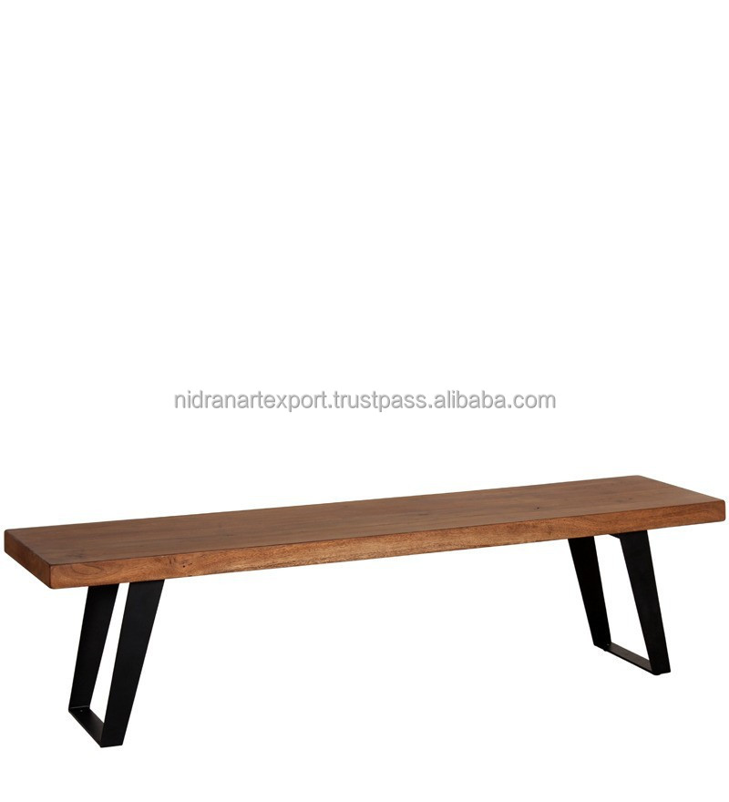 Terrific Industrial Vintage Iron Metal Wooden Garden Patio Bench Buy Indian Garden Bench Garden Benches Cheap Antique Cast Iron Garden Bench Product On Caraccident5 Cool Chair Designs And Ideas Caraccident5Info