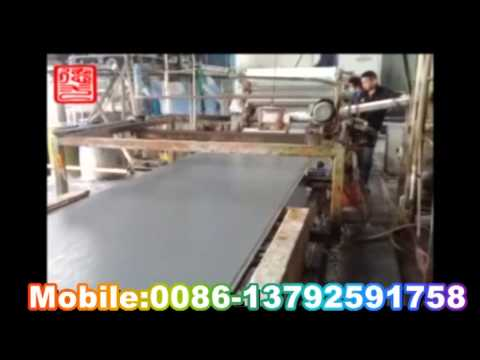 mgo partition board production line
