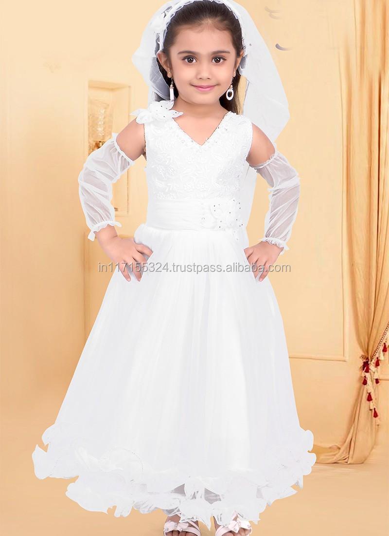 Kinder Tragen Kleider Für Hochzeit Pakistanischen Anarkali Kleider ...