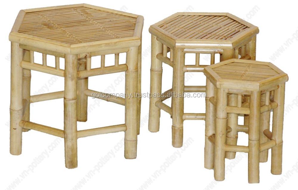 gros tabouret en bambou bambou meubles canap salon id de produit 50025282329. Black Bedroom Furniture Sets. Home Design Ideas