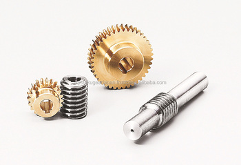 Worm gear shaft Module 0.8 Stainless steel Made in Japan KG STOCK GEARS