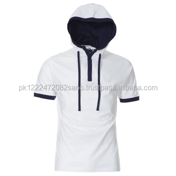 Men's Short Sleeve Hoodie, Men's Short Sleeve Hoodie Suppliers and ...