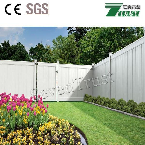 Bevorzugt Kunststoff Holz Zaun Garten Panel Mit Günstigen Preis,Outdoor ZZ68