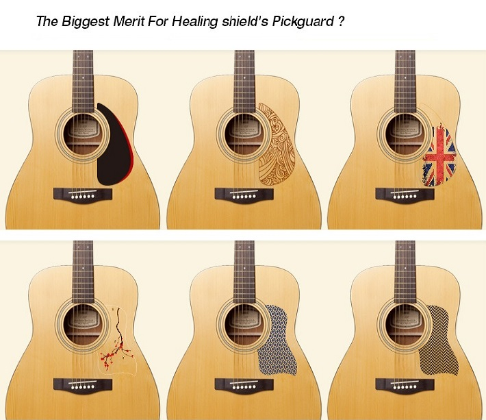 pick guard for acoustic guitars from healing shield buy pick guard for acoustic guitars. Black Bedroom Furniture Sets. Home Design Ideas