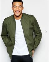 Jacket Bomber Zipper bomber jacket man jacket