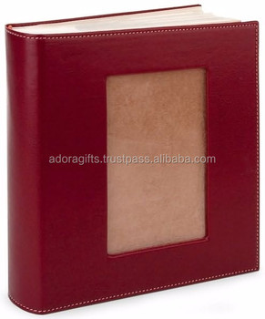 leather cover wedding photo albums for professional photographer