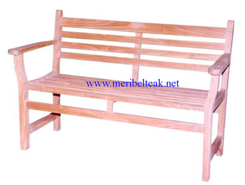 Indonesia Furniture- Java Bench 2 Seater-Teak Furniture