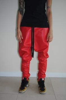custom stylish drop crotch pants dance jogger baggy hip