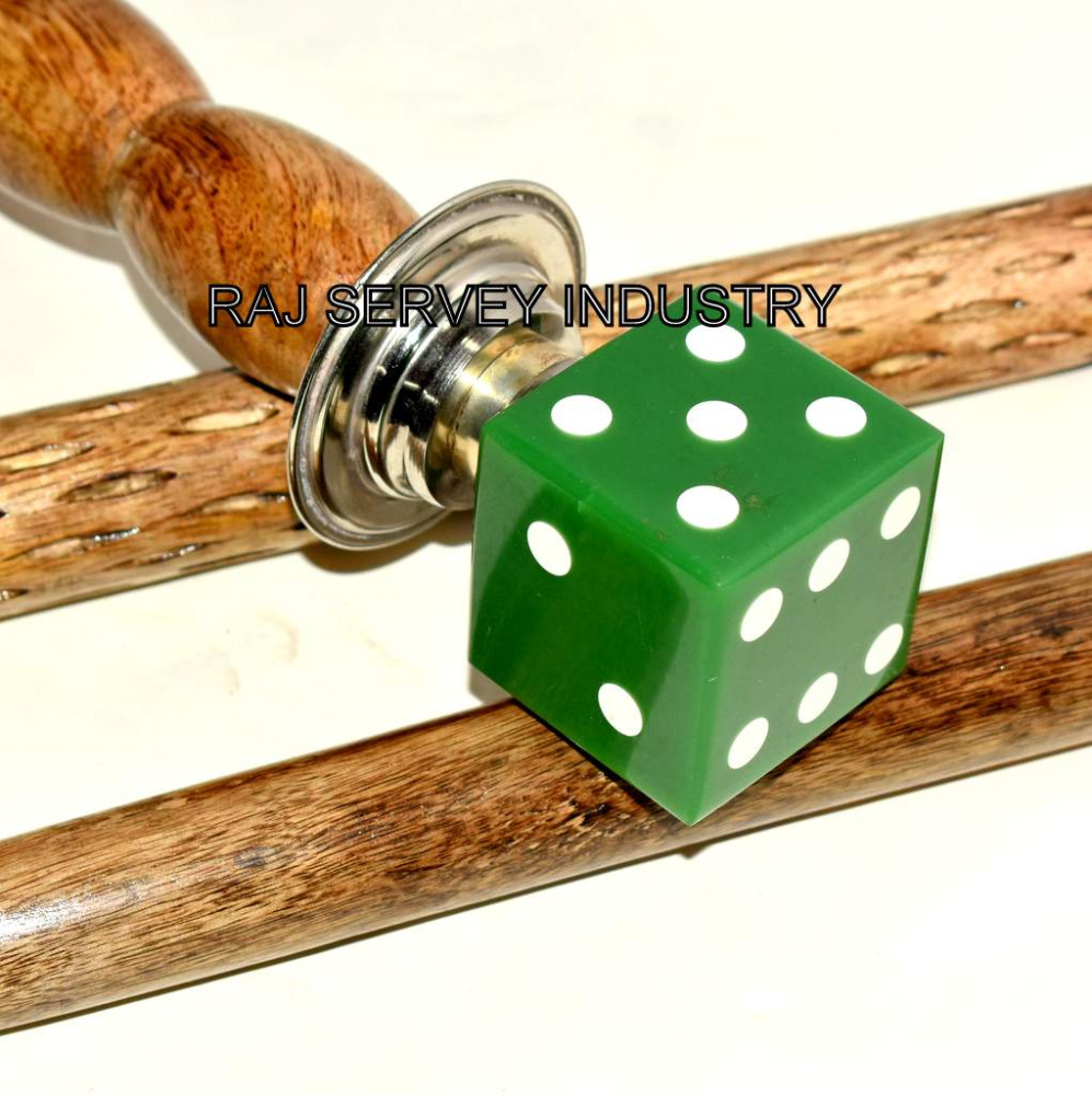 Antique Nautical Ludo Dice Handle Walking Stick awesome item to gentleman gift