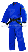 Blauw <span class=keywords><strong>Judo</strong></span> <span class=keywords><strong>Uniform</strong></span> Double Weave Hoge Kwaliteit <span class=keywords><strong>Stof</strong></span>