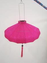 New arrival colorful silk lantern hanging silk lantern for decoration made in Vietnam