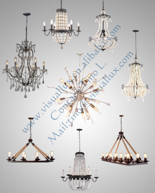 Natural wood bead traditional style rustic finish for Natural wood chandelier