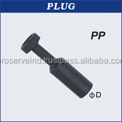 One Touch Industrial Pneumatic Pipe Plug Fittings