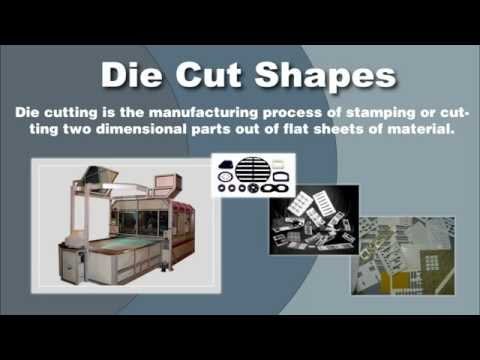 Die Cut Shapes Manufacturers