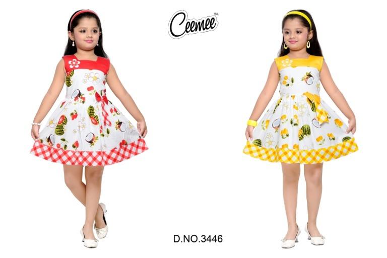 100e876cde99 Frock Beautiful Design Girls 100% Cotton Frock, View Custmized ...