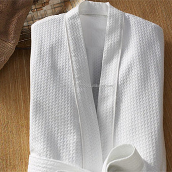 Waffle Bath Robe for men