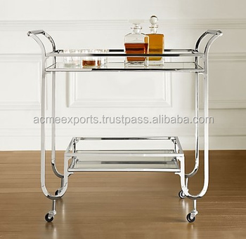 Stainless Steel bar carts Trolley Suppliers