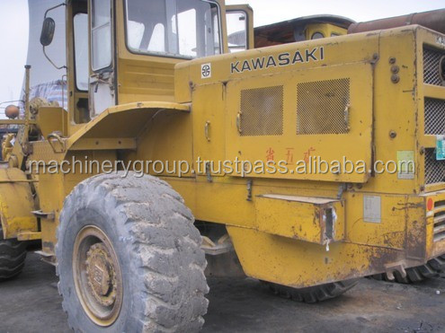 Used Kawasaki 80Z Loader ,Used wheel Loader 80z With Good Quality