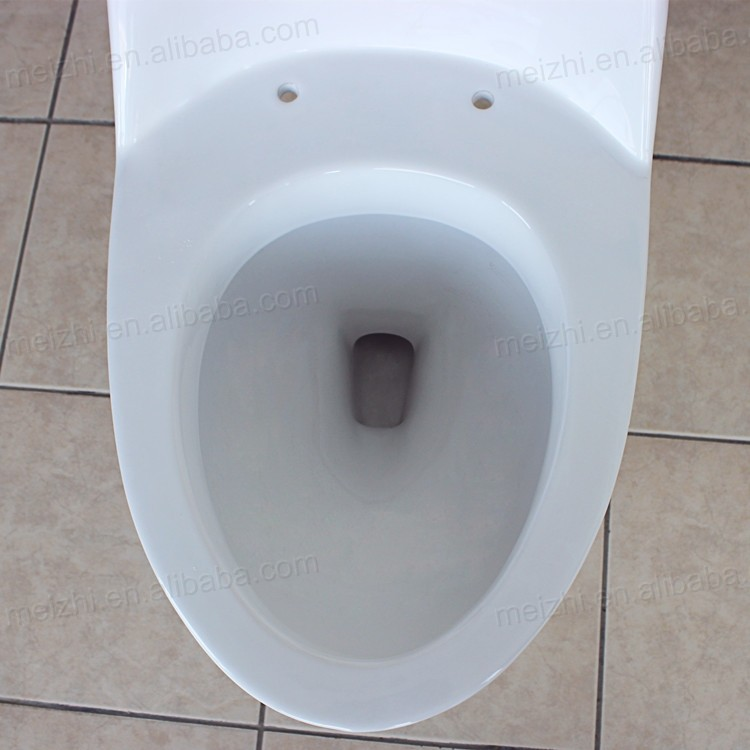 Water closet one piece toilet seats