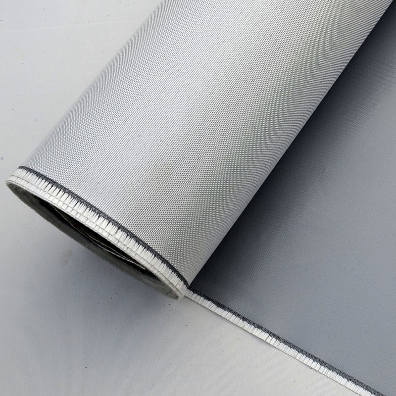 High tensile strength flame resistant silicone fiberglass for Is fiberglass heat resistant